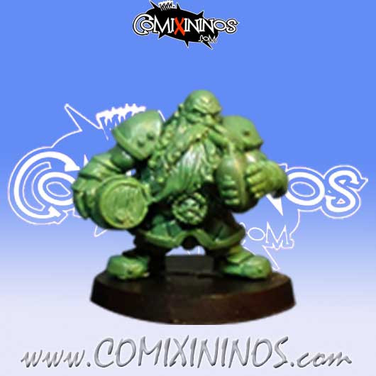 Dwarves - Dwarf Bomber Star Player - Iron Golems