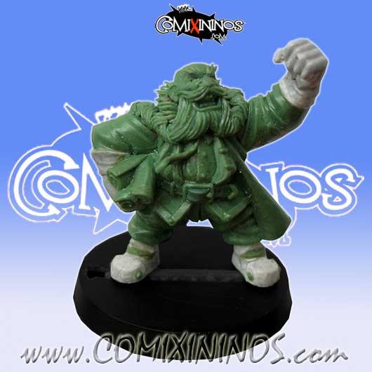 Dwarves - Dwarf Coach Manager - Willy Miniatures