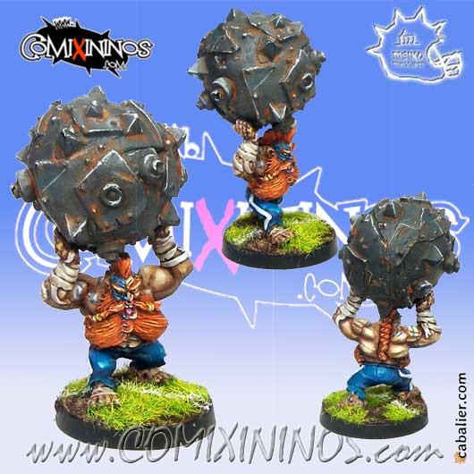 Dwarves - Dwarf  Steamroller - Meiko Miniatures