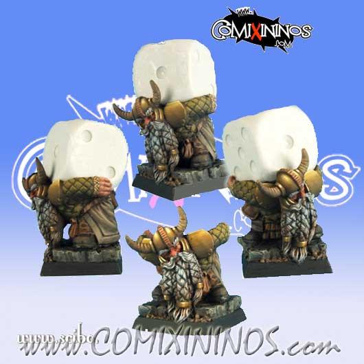Dwarves - Dwarf Dice Bearer - Scibor Miniatures