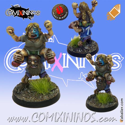Dwarves - Set of 2 Dwarf Fans - Mano di Porco