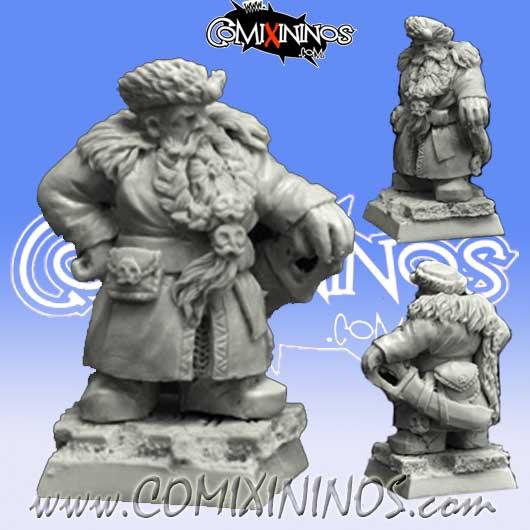Dwarves - Dwarf Nobleman nº 2 - Scibor Miniatures
