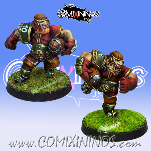 Dwarves - Set of 2 Dwarf Runners - Willy Miniatures