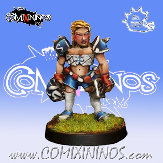 Dwarves - Dara The Slayer Star Player - Iron Golems