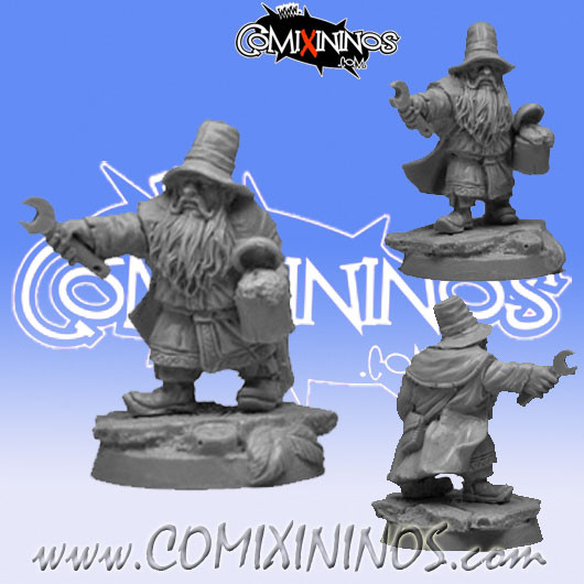 Dwarves - Apothecary Dwarf Medic - Scibor Miniatures