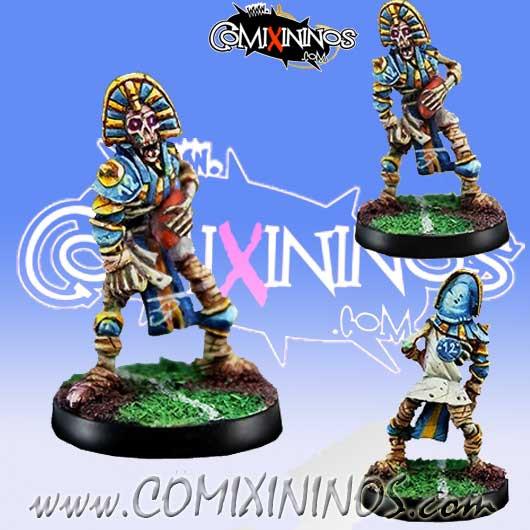 Egyptian Tomb kings - Skeleton Thro-Ra nº 2 - Willy Miniatures