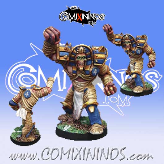 Egyptian / Undead - Egyptian Mummy nº 4 - Willy Miniatures
