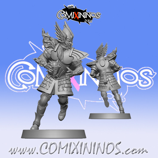 High Elves - High Elf Thrower nº 2 - SP Miniaturas