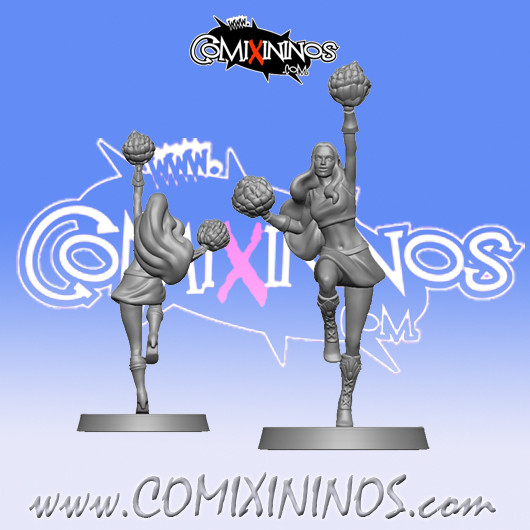 High Elves - High Elf Cheerleader - SP Miniaturas