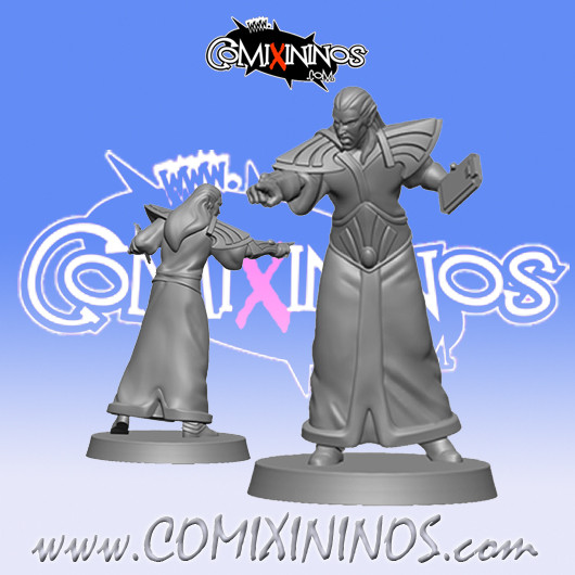 High Elves - Elfinho High Elf Coach - SP Miniaturas