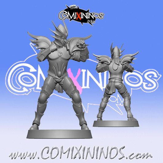 High Elves - The Prince High Elf Star Player - SP Miniaturas