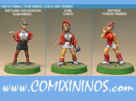 Humans - Human Team Owner Coach Trainer Set of 3 - Shadowforge