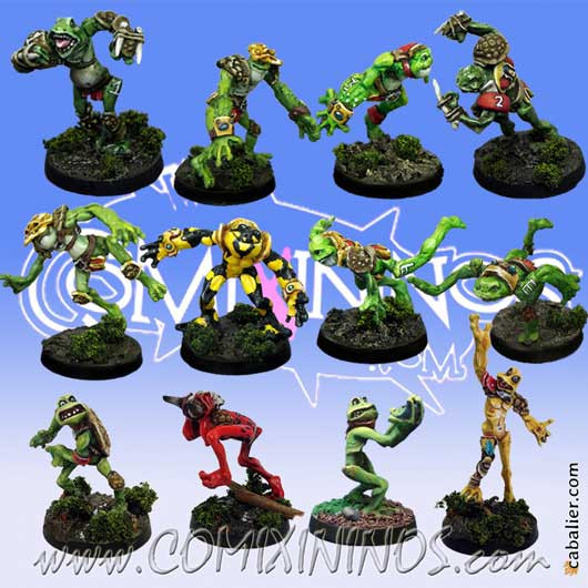 Frogmen - Team of 12 Players Croacxigor Not Included - Mano di Porco