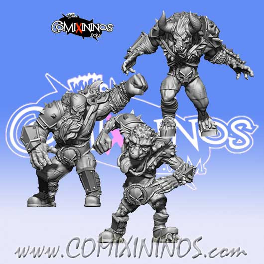 Evil Pact - Set of 3 Big Guys - SP Miniaturas