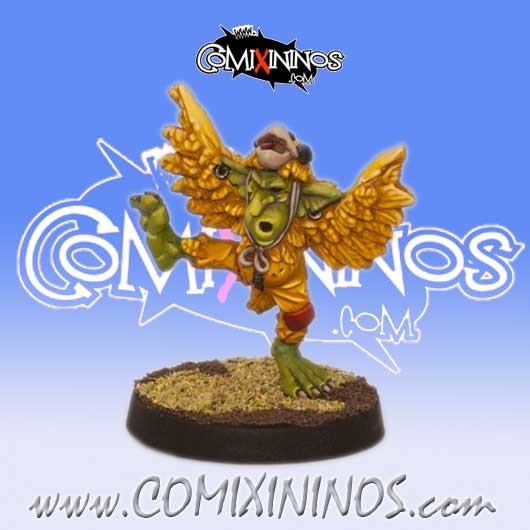 Goblins - Chicken Goblin - Willy Miniatures
