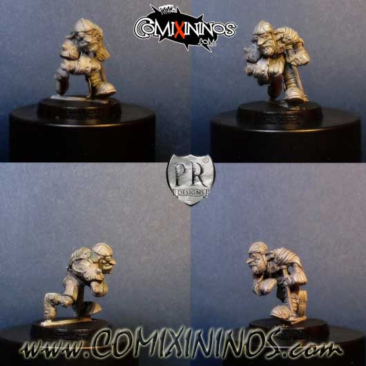 Goblins / Orcs - Injured Goblin - Goblin Guild