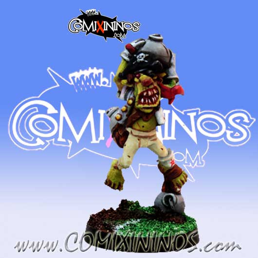 Goblins - Classic Goblin Bombardier   - Willy Miniatures