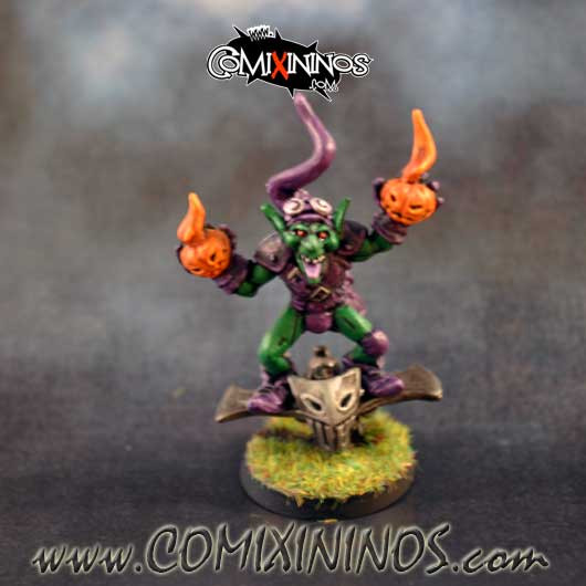 PAINTED Green Goblin Bombardier