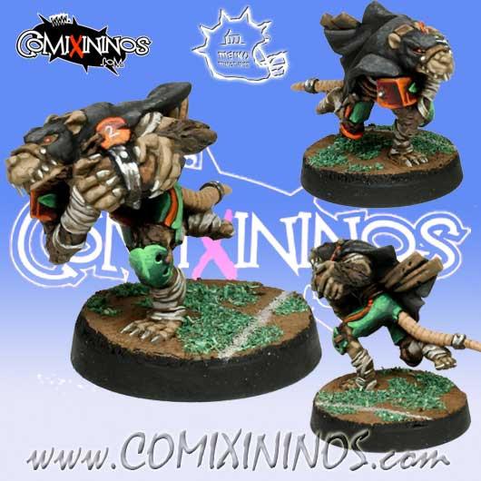 Ratmen - Gutter Runner nº 2 - Meiko Miniatures