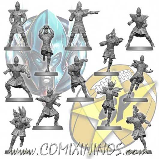 High Elves - Basic Team of 12 Players - SP Miniaturas