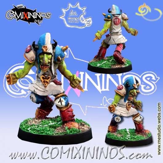 Evil Dwarves - Hobgoblin nº 6 Dirty Player - Meiko Miniatures