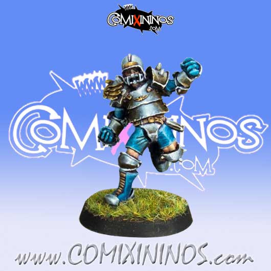 Humans - Human Lineman nº 2 - Willy Miniatures