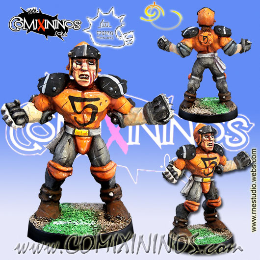 Humans - Human Lineman nº 5 - Meiko Miniatures