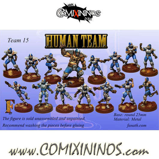 Humans - Team of 15 Players with Ogre - Fanath Art