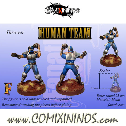 Humans - Human Thrower nº 1 - Fanath Art