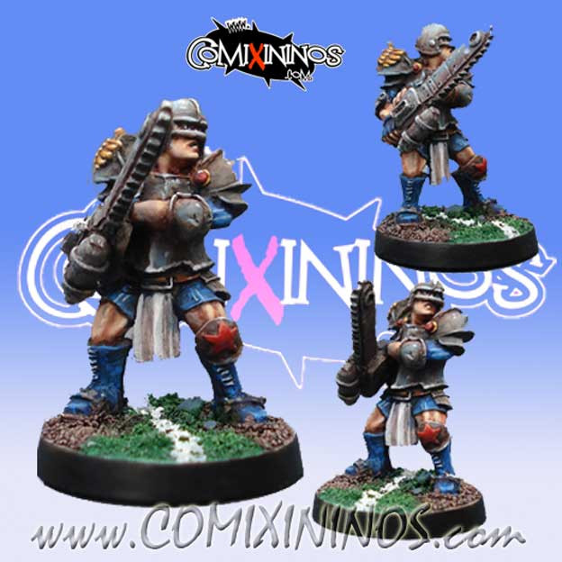 Humans - Human Chainsaw - Willy Miniatures