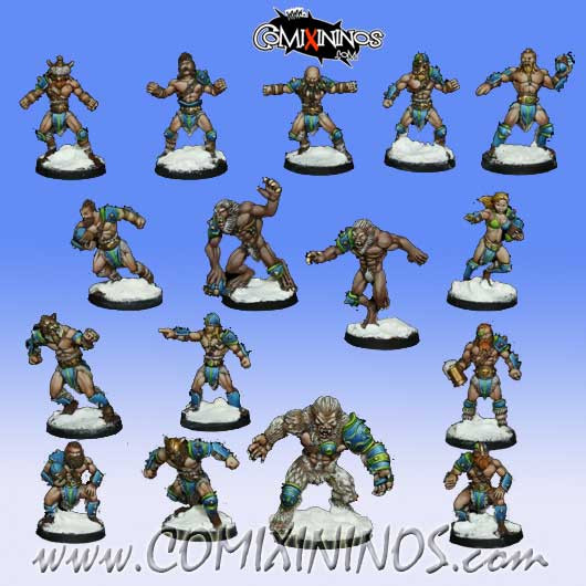 Norses - Icelander Norse Team of 16 Players with Yeti - Rolljordan