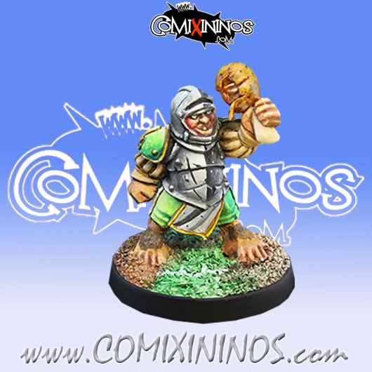 Halflings - Imperial Halfling nº 1 - Willy Miniatures
