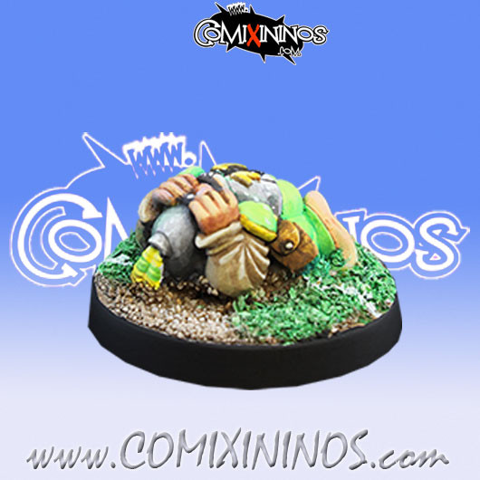 Halflings - Imperial Halfling nº 12 - Willy Miniatures