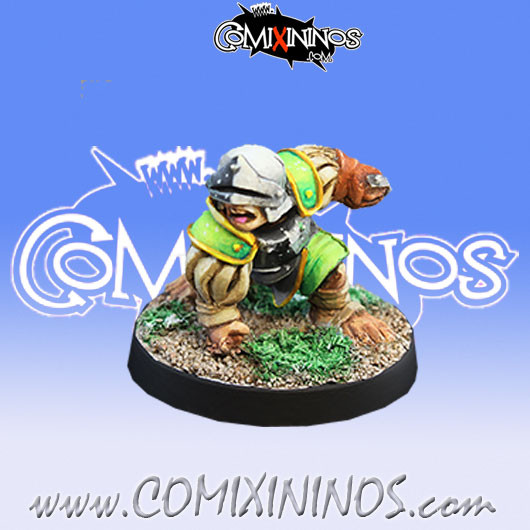 Halflings - Imperial Halfling nº 13 - Willy Miniatures