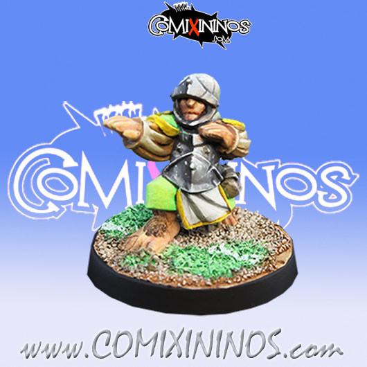 Halflings - Imperial Halfling nº 2 - Willy Miniatures