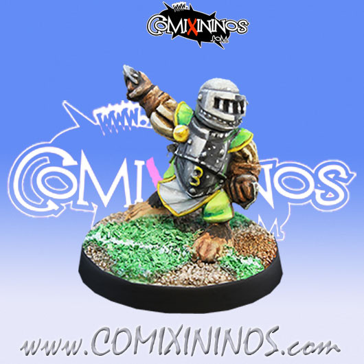 Halflings - Imperial Halfling nº 3 - Willy Miniatures