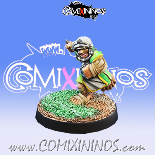 Halflings - Imperial Halfling nº 4 - Willy Miniatures