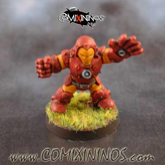 PAINTED Iron Dwarf