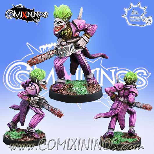 Humans / Evil - Joker Chainsaw Star Player - Meiko Miniatures