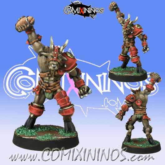 Evil - Beastman nº 1 - Meiko Miniatures