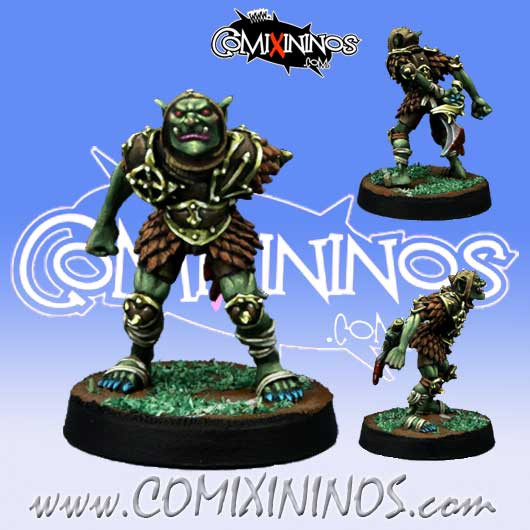Evil Dwarves - Hobgoblin Assassin Star Player - Willy Miniatures