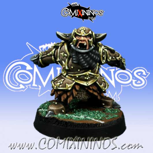Evil Dwarves - Evil Dwarf Blocker nº 3  - Willy Miniatures