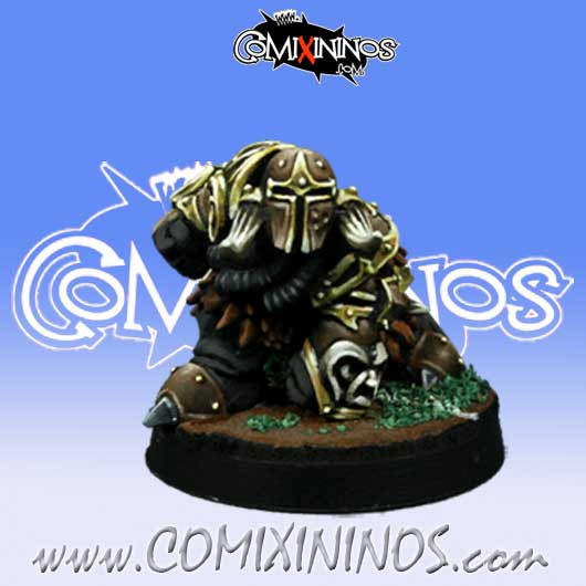 Evil Dwarves - Evil Dwarf Blocker nº 6  - Willy Miniatures