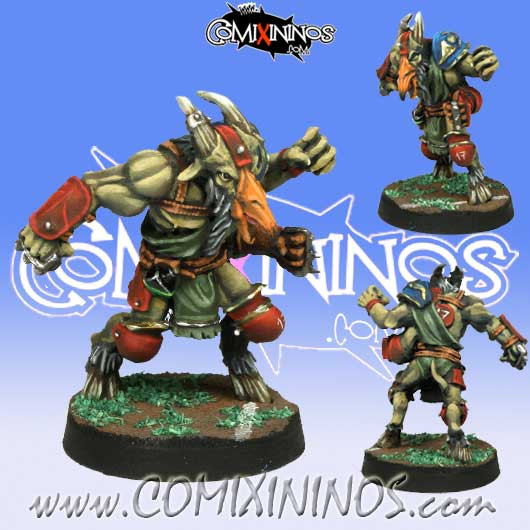 Evil - Mutated Beastman with Multiple Arms - Meiko Miniatures
