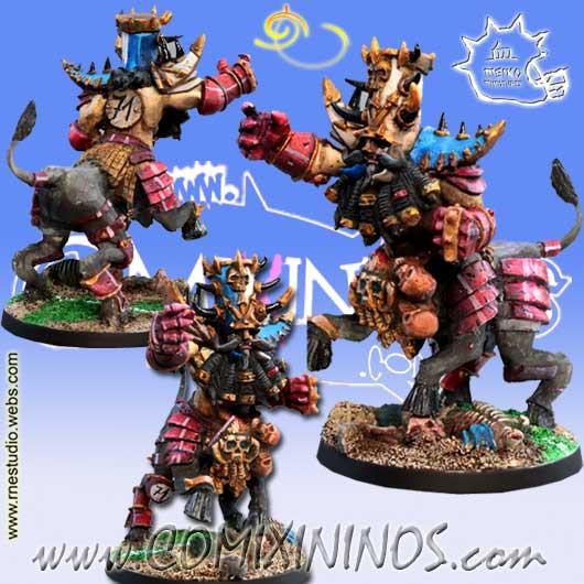 Evil Dwarves - Khart Bull Centaur Star Player - Meiko Miniatures