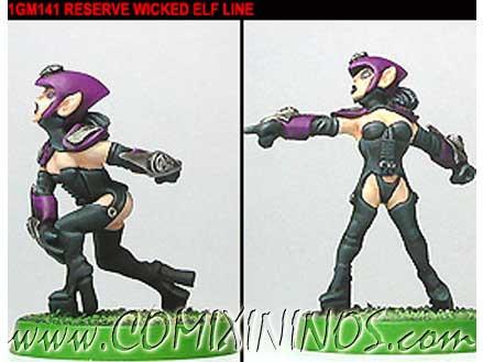 Dark Elves - Dark Elf Linewomen Set of 2 - Shadowforge