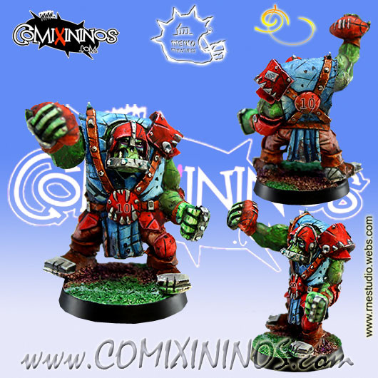 Orcs - Orc Thrower nº 2 or Lineman nº 10 - Meiko Miniatures