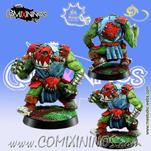 Orcs - Orc Lineman nº 2 - Meiko Miniatures