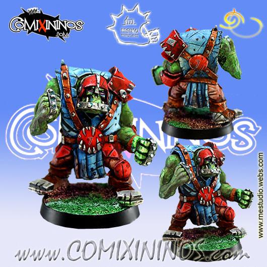 Orcs - Orc Lineman nº 7 - Meiko Miniatures