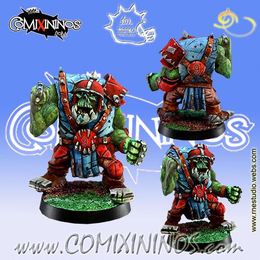 Orcs - Orc Lineman nº 9 - Meiko Miniatures